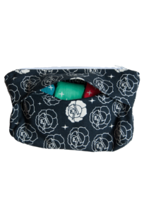 Washable Menstrual Pad Storage Clutch