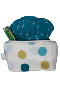 Optimal Essentials Organic Cloth Pads Starter Kit