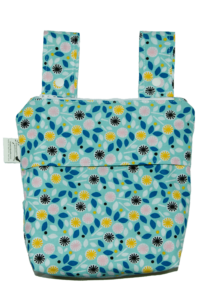 Organic Cotton Hang Tab Wet Bag
